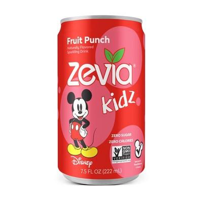 Zevia Kidz Fruit Punch Zero Calorie Soda - 6pk/7.5 fl oz Cans