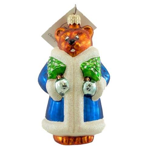 Christopher Radko Beary Chic Ornament Teddy Christmas - image 1 of 2