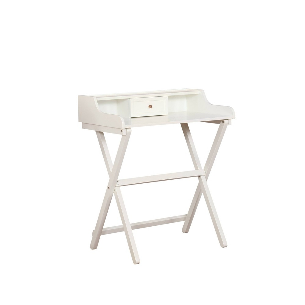 Coy Folding Desk White - Linon Coy Folding Desk White - Linon