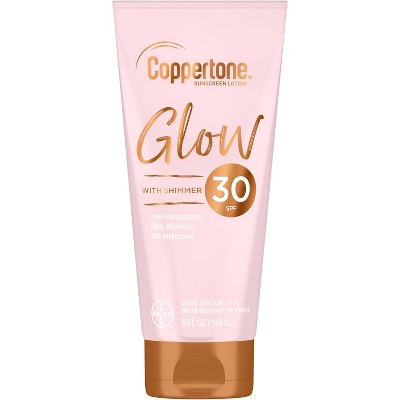 Sunscreen & Tanning: Coppertone Glow