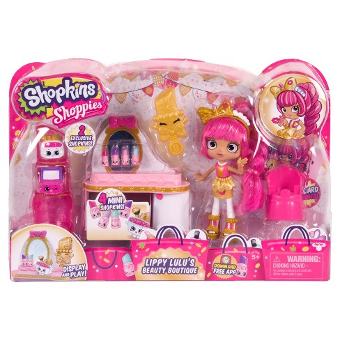 Shopkins™ Shoppies Playset – Lipstick Vanity - image 1 of 6