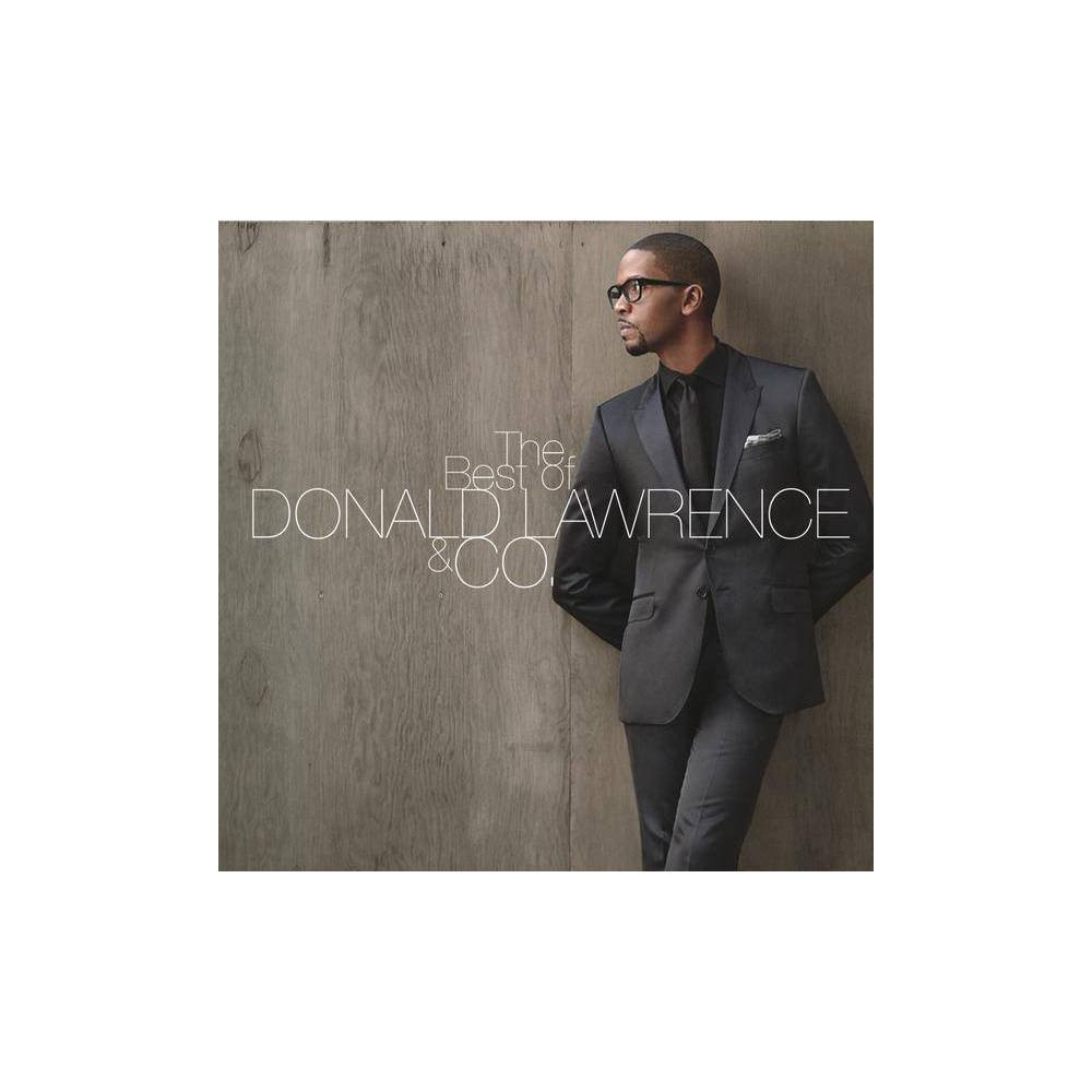 Lawrence Donald Producer Best Of Donald Lawrence Co Cd
