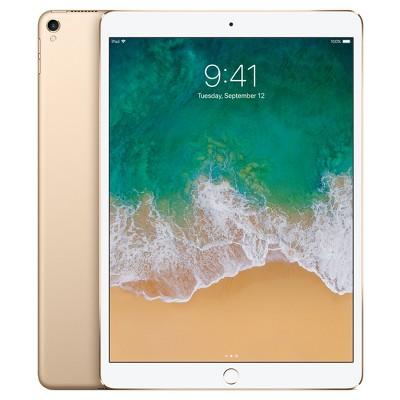 Apple® iPad Pro 10.5  256GB Wi-Fi Only (2017 Model, MPF12LL/A)- Gold