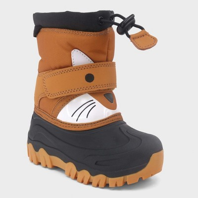 Toddler Boys' Bernardo Fox Winter Boots - Cat & Jack™ Tan 5