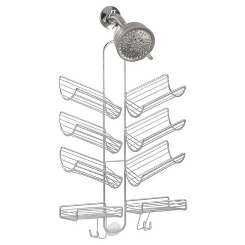 Hand Held Hose Bathroom Shower Caddy Silver - InterDesign : Target
