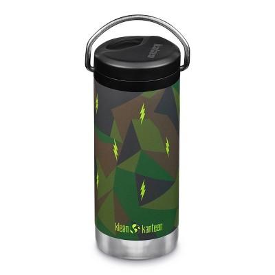 Klean Kanteen 12oz TKWide Insulated Stainless Steel Water Bottle with Twist Straw Cap