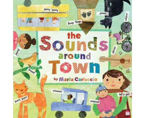Sounds Around Town (Hardcover) (Maria Carluccio) - image 1 of 1