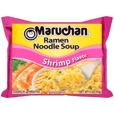 Maruchan Ramen Noodle Soup Shrimp Flavor 3oz