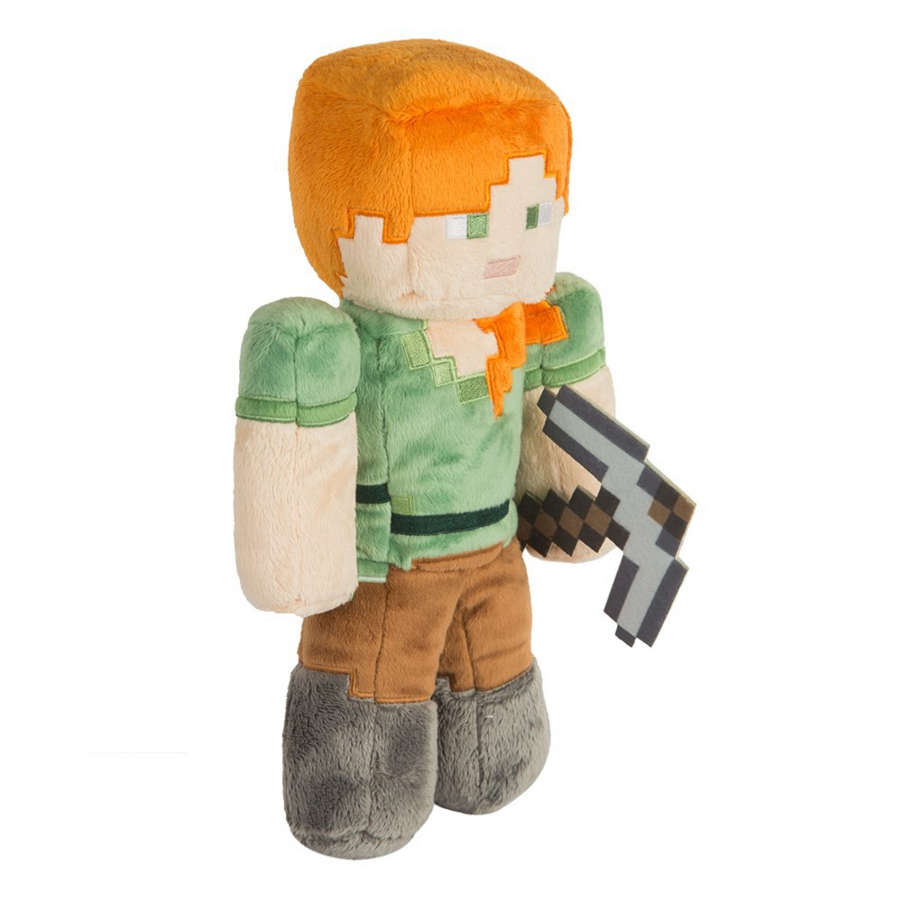 Minecraft 12 Alex Plush, Stuffed Animals