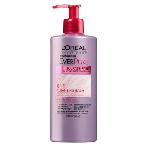 L'Oreal Paris Hair Expertise EverPure 6-in-1 Cleansing Balm - 16.9 fl oz - image 1 of 2