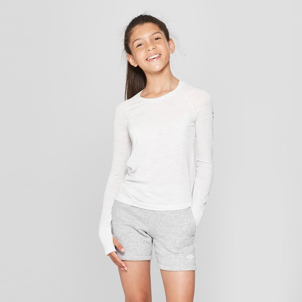 Activewear T-Shirt Umbro White S, Girl's