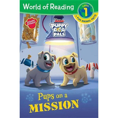 Pups on a Mission L1 - by Disney (Paperback)