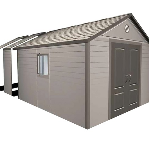 "Shed Extension Kit 30"" - Gray - Lifetime - image 1 of 1"
