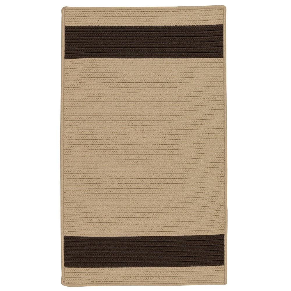 Stripe Braided Area Rug Colonial Mills