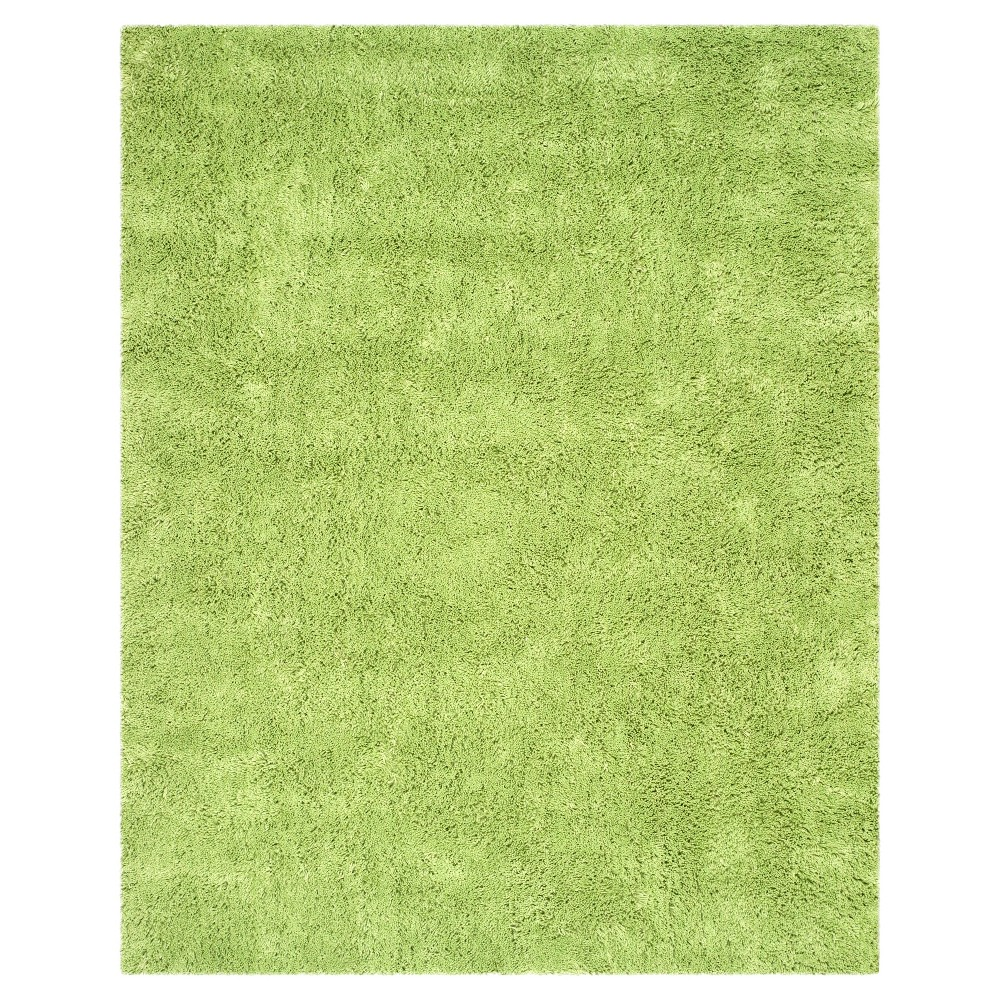 Lime (Green) Solid Tufted Area Rug - (7'6