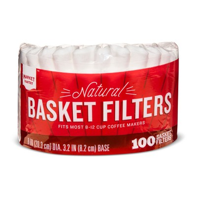 Natural Coffee Filters - 100ct - Market Pantry™