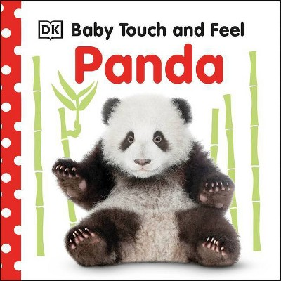 Baby Touch and Feel Panda - (Board Book)