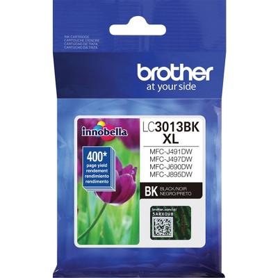 Brother Ink Cartridge MFC-J491 400 Page Yield BK LC3013BK