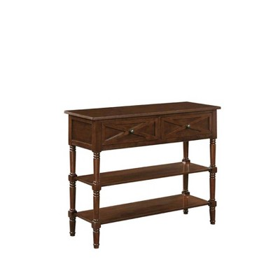 Country Oxford 2 Drawer Console Table - Johar Furniture