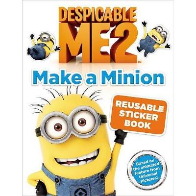 Despicable Me 2: Make a Minion Reusable Sticker Book (Paperback) by Kirsten Mayer