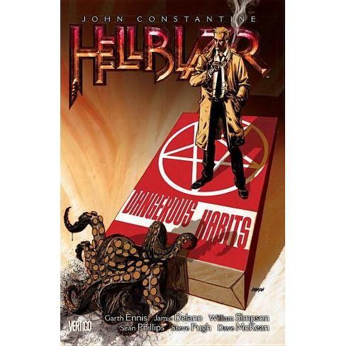 John Constantine, Hellblazer Vol. 5: Dangerous Habits (New Edition) - by  Jamie DeLano & Garth Ennis - image 1 of 1