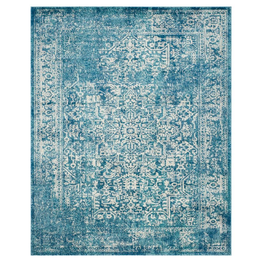 Evoke Rug - Blue/Ivory - 10'x14' - Safavieh