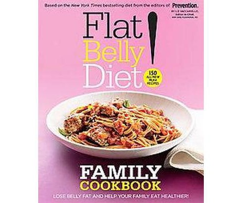 Flat Belly Diet! (Reprint) (Hardcover) by Liz Vaccariello - image 1 of 1