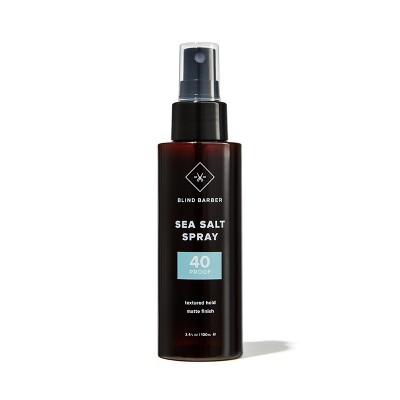 Blind Barber 40 Proof Sea Salt Spray Textured Hold - Matte Finish - Trial Size - 3.4 fl oz