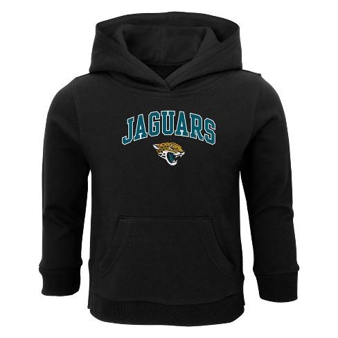 NFL Jacksonville Jaguars Toddler Boys' Touchdown Poly Fleece Hoodie - image 1 of 1