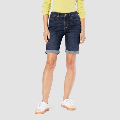 "DENIZEN® from Levi's® Women's Mid-Rise 9"" Bermuda Jean Shorts"