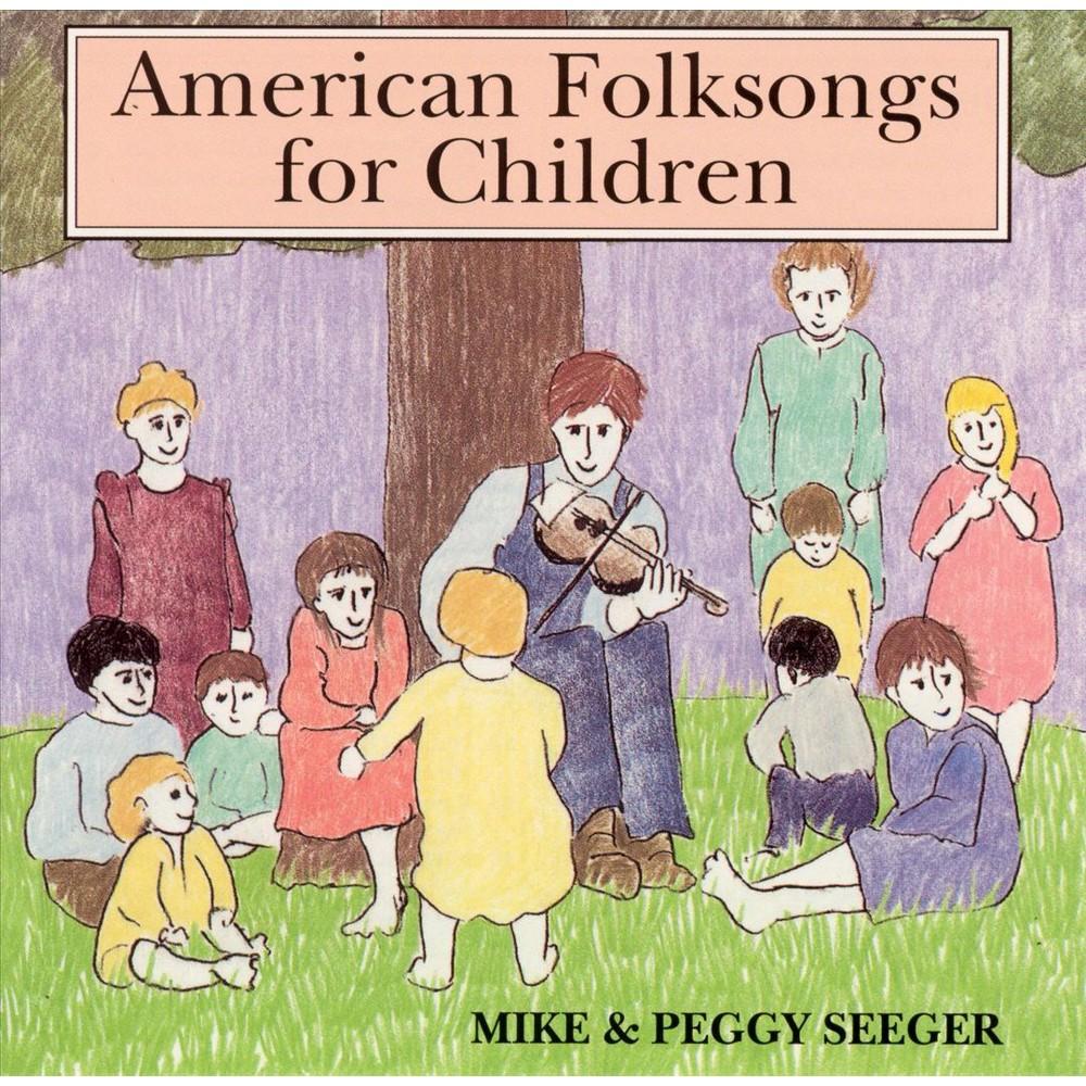 Mike & Peggy Seeger - American Folk Songs For Children (CD)