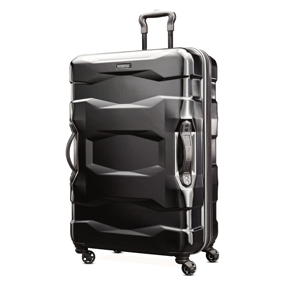 Best Review American Tourister Breakwater 28 Hardside Spinner Suitcase Black