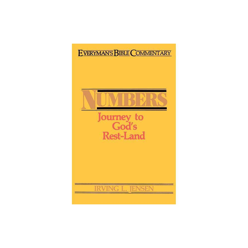 Numbers Ebc Everyman S Bible Commentaries By Irving L Jensen Paperback