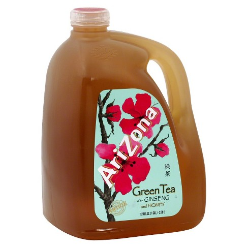 AriZona Green Tea with Ginseng and Honey - 128 fl oz Jug - image 1 of 1