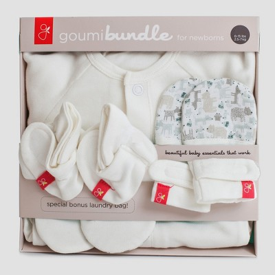 goumikids Baby Baby Bundle Set Forest Friends - Gray 0-3M
