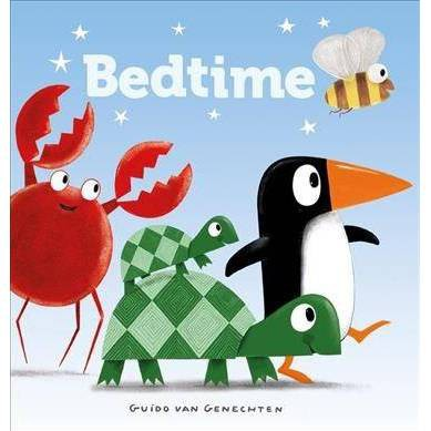 Bedtime - by Guido Genechten (Board_book)