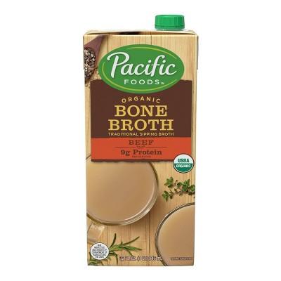 Pacific Organic Bone Broth Beef - 32oz