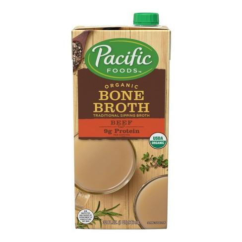 Pacific Organic Bone Broth Beef - 32oz - image 1 of 4