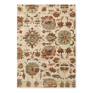 5'X7' Floral Hooked Area Rug - Threshold™