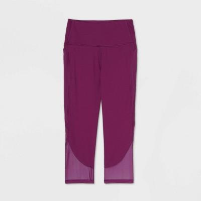 "Women's Contour Curvy High-Waisted Capri Leggings 21"" - All in Motion™"