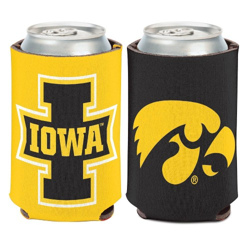 NCAA Iowa Hawkeyes Logo Can Cooler - image 1 of 1