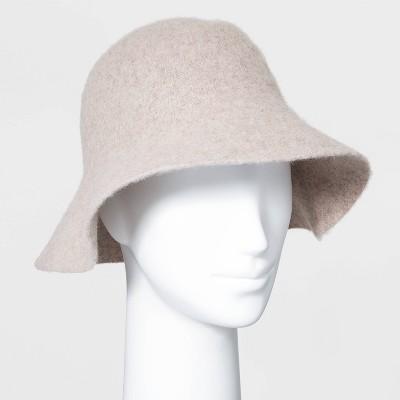 Women's Knit Bucket Hat - Universal Thread™ Oatmeal