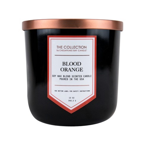 12oz Lidded Glass Jar 2-Wick Candle Blood Orange - The Collection By Chesapeake Bay Candle - image 1 of 2