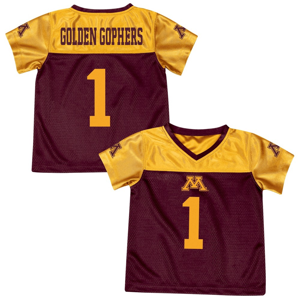 Athletic Jerseys Minnesota Golden Gophers 4T, Multicolored