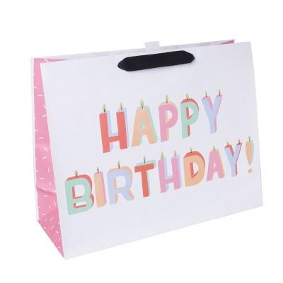 Medium Candles Print Gift Bag - Spritz™