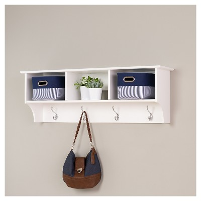 Entryway Cubbie Shelf White - Prepac