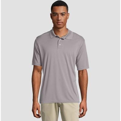 Hanes Men's Cool Dri Pique Polo Short Sleeve Shirt