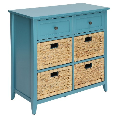 Acme Furniture Chest Teal - image 1 of 4