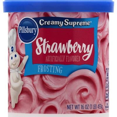 Pillsbury Baking Srawberry Supreme Frosting - 16oz