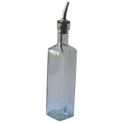 Natural Home 12oz Recycled Glass Olive Oil Dispenser Clear - image 1 of 1